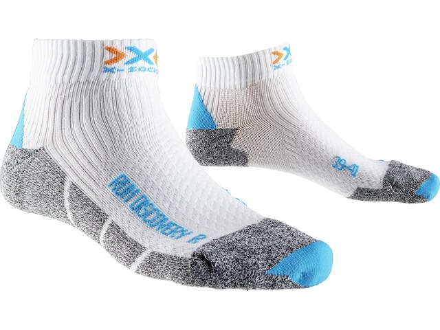 X-Socks Run Discovery Short Socks Women White/Turquoise/Grey